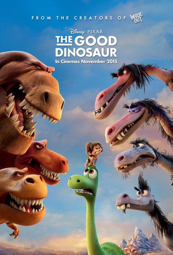 Хороший динозавр / 2015 [HD 720]