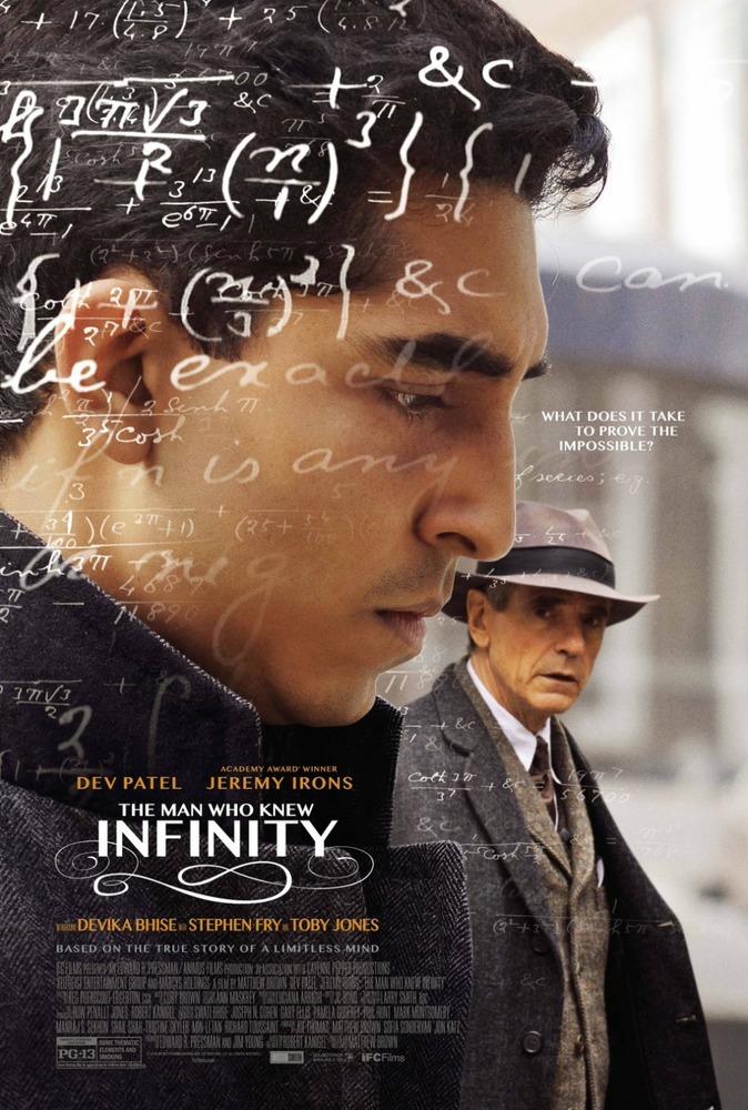 Постер к релизу Человек, который познал бесконечность / The Man Who Knew Infinity [2015 / Драма, биография / BDRip]
