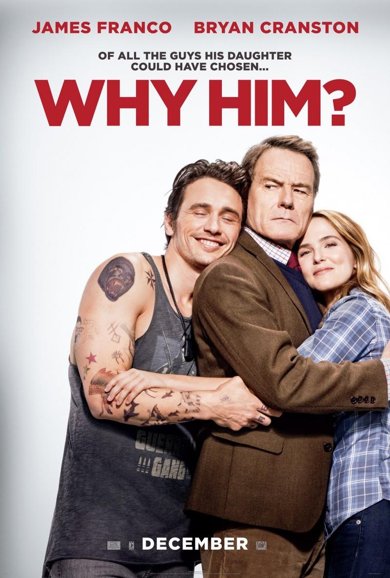 Постер к релизу Почему он? / Why Him? [2016 / Комедия / BDRip]