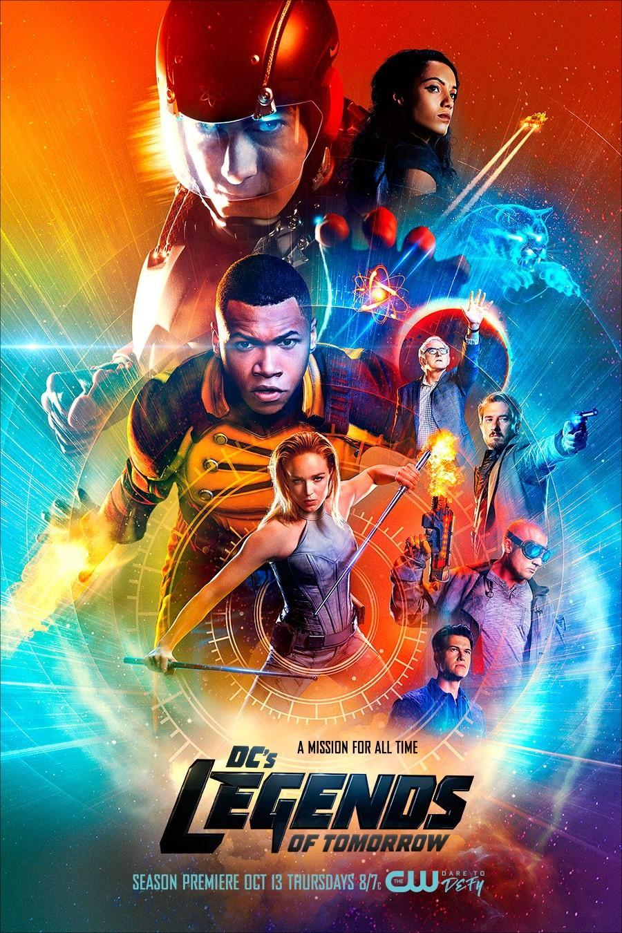 Легенды завтрашнего дня 1-2 сезон 1-17 серия СУБТИТРЫ | DC's Legends of Tomorrow