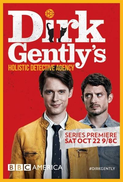 Детективное агентство Дирка Джентли 1 сезон 1-8 серия СУБТИТРЫ | Dirk Gently's Holistic Detective Agency