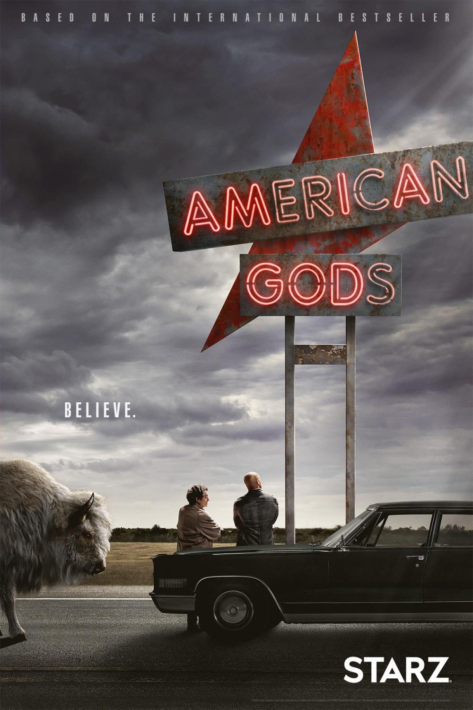 Американские боги 1 сезон 1-8 серия BaibaKo | American Gods
