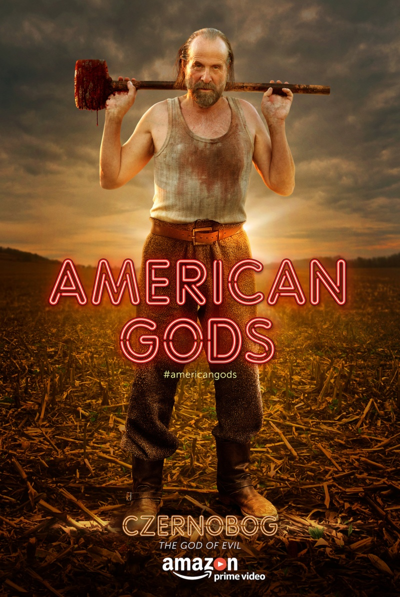 Американские боги 1 сезон 1-8 серия Дубляж Пифагор | American Gods
