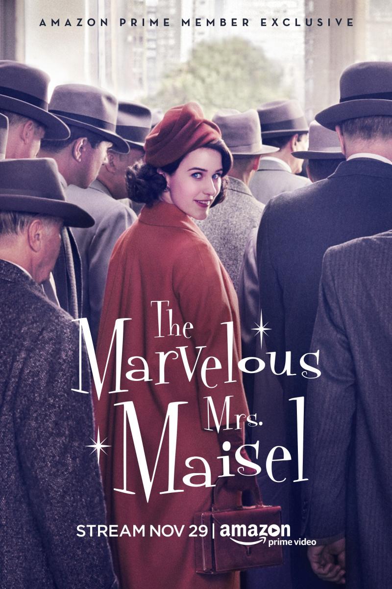 "Рецензия на сериал ""Удивительная миссис Мейзел"" (The Marvelous Mrs. Maisel) 2017-..."