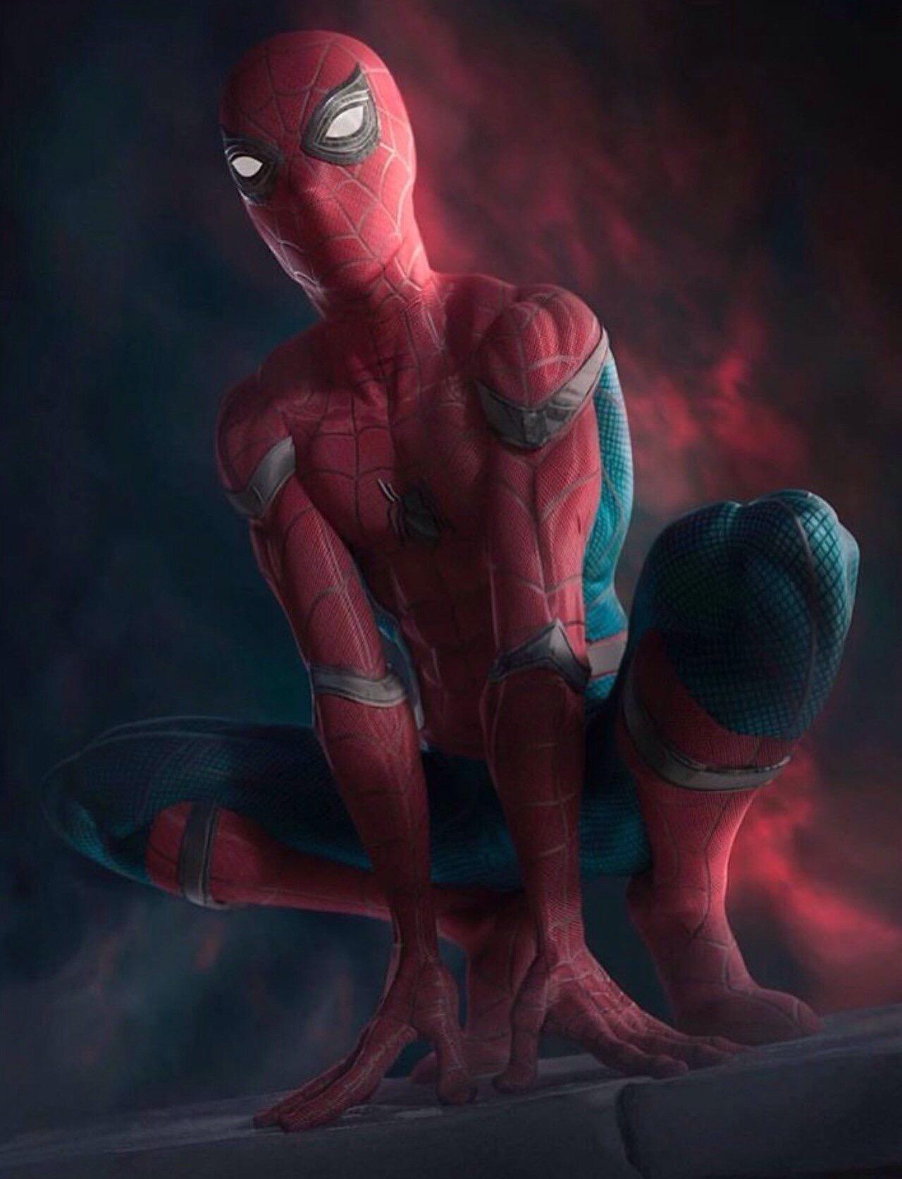 картинки рисунки человек паук возвращение домой отвоевали