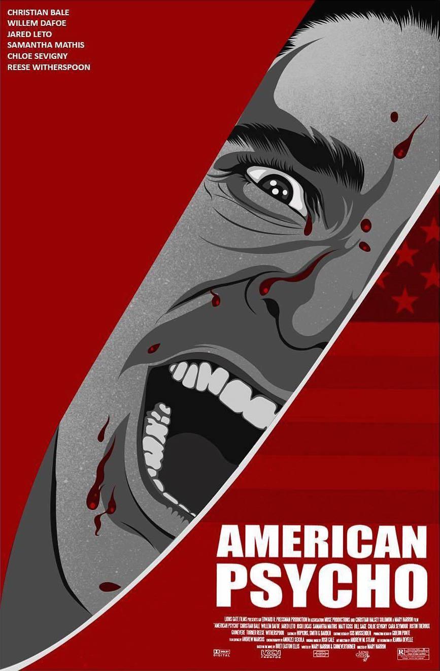 дровница кино американский психопат постеры строй