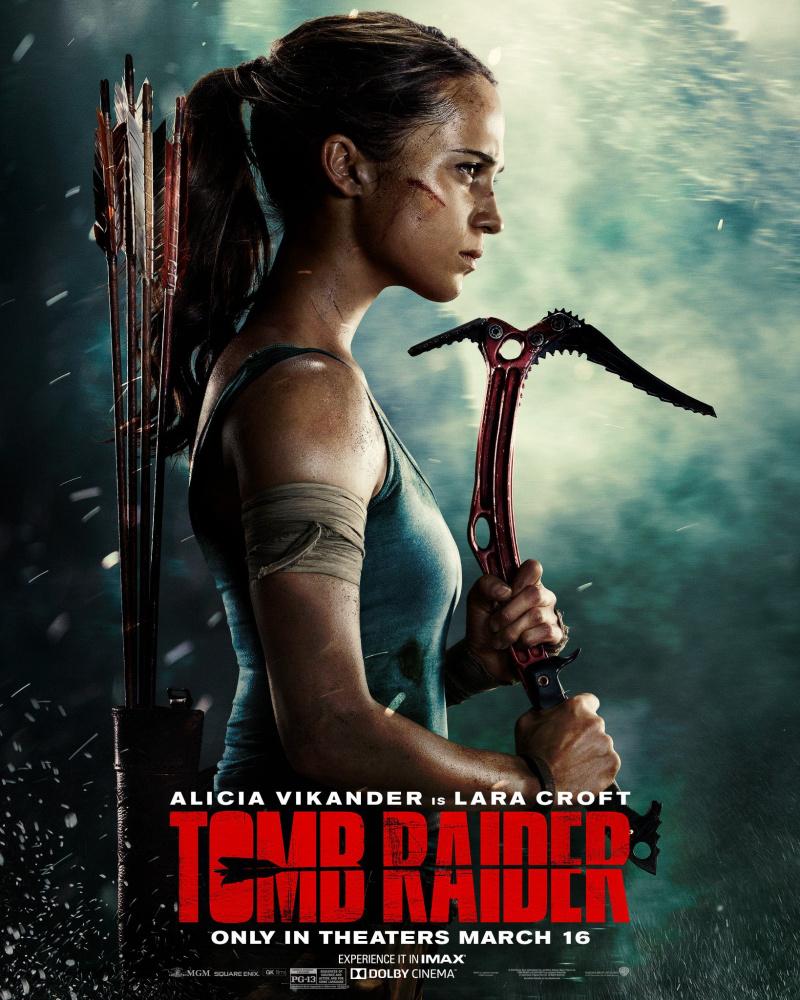 "Рецензия на фильм ""Tomb Raider: Лара Крофт"" (Tomb Raider) 2018"