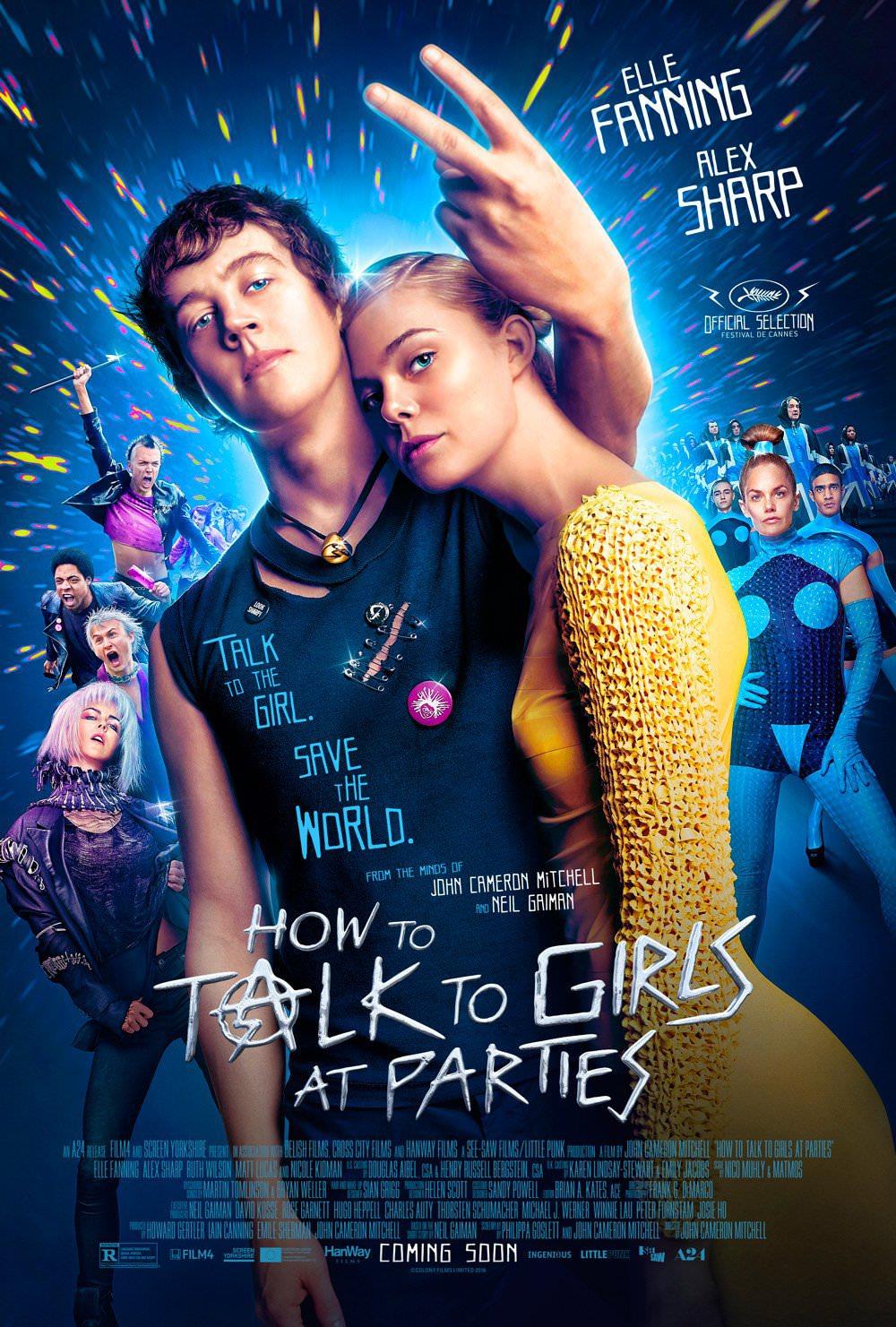 """""""Как разговаривать с девушками на вечеринках"""" (How to Talk to Girls at Parties) 2016"""