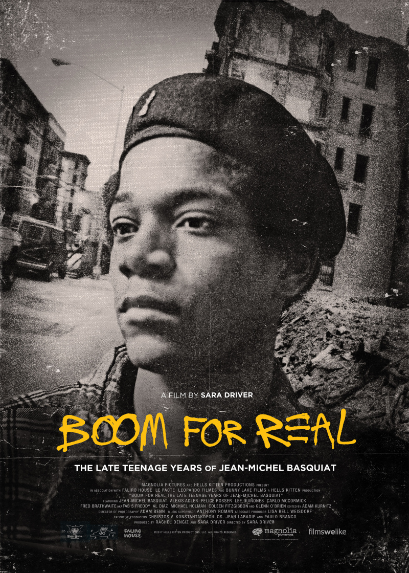 Баския: Взрыв реальности / Boom for Real: The Late Teenage Years of Jean-Michel Basquiat (2017)