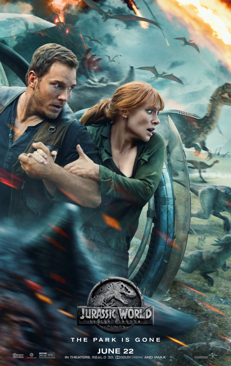 Jurassic World: Fallen Kingdom (Eng)