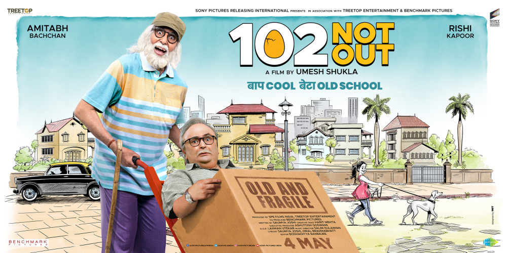 102 NOT OUT (2018) con AMITABH BACHCHAN + Jukebox + Sub. Español + Online Kinopoisk.ru-102-Not-Out-3181668