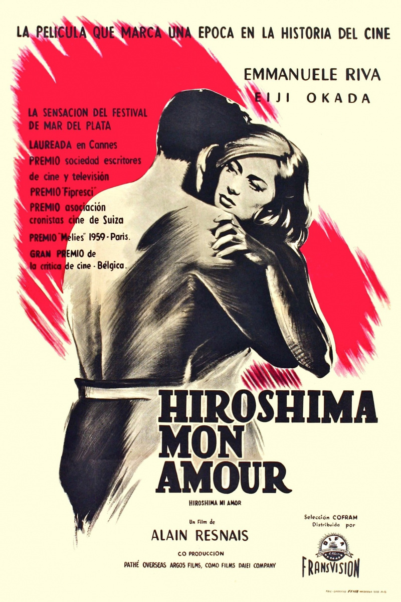 an analyisis of war in hiroshima mon amour a drama film directed by alain resnais Reviewed by glenn erickson alain resnais, fabled director of hiroshima mon amour and last year at marienbad, isn't as mysterious as he might seemfifty years later he's still working, and probably still trying to escape his reputation for impenetrable intellectual puzzle pictures.