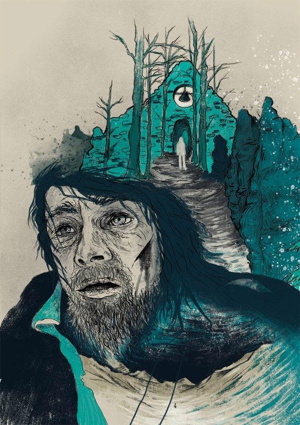 Выживший постер на русском