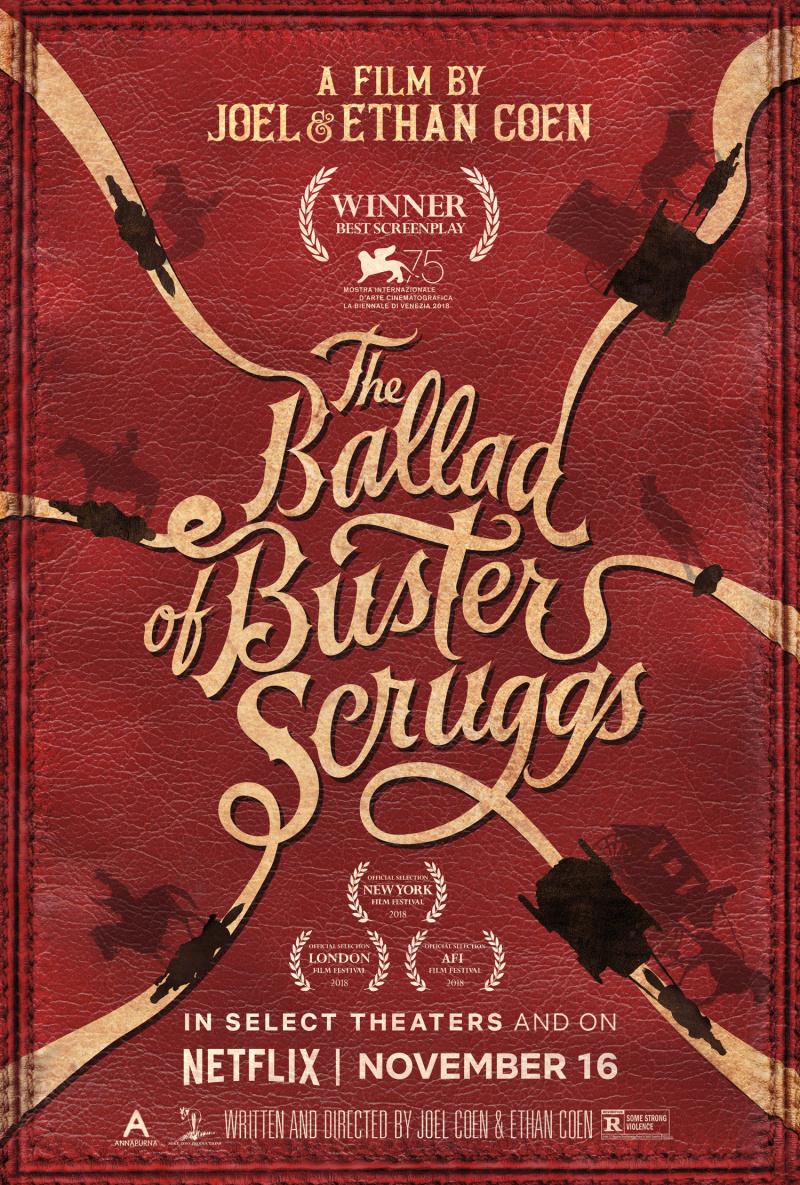 "Рецензия на фильм ""Баллада Бастера Скраггса"" (The Ballad of Buster Scruggs) 2018"