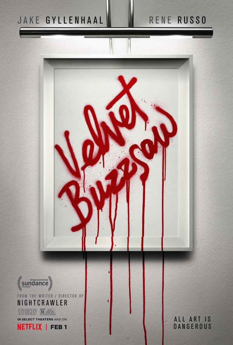 """Рецензия на фильм """"Бархатная бензопила"""" (Velvet Buzzsaw) 2019"""