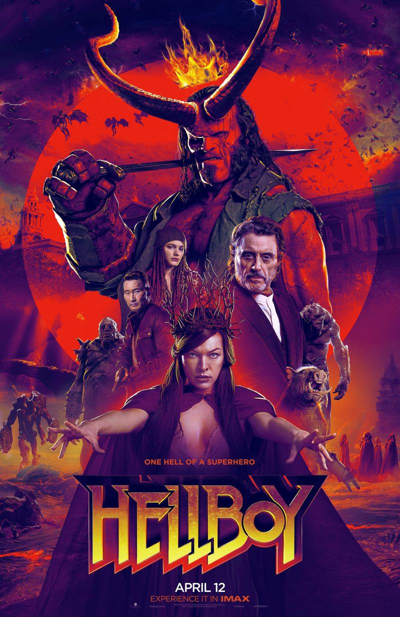 """Рецензия на фильм """"Хеллбой"""" (Hellboy) 2019"""