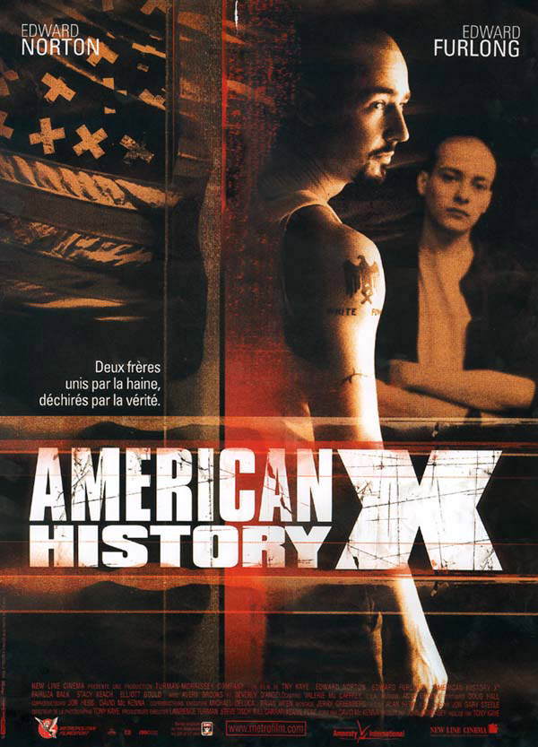 a review of american history x an american crime drama film Including why the director renounced the film and tried so hard to and edward norton's 1998 gritty crime drama films with american history x.