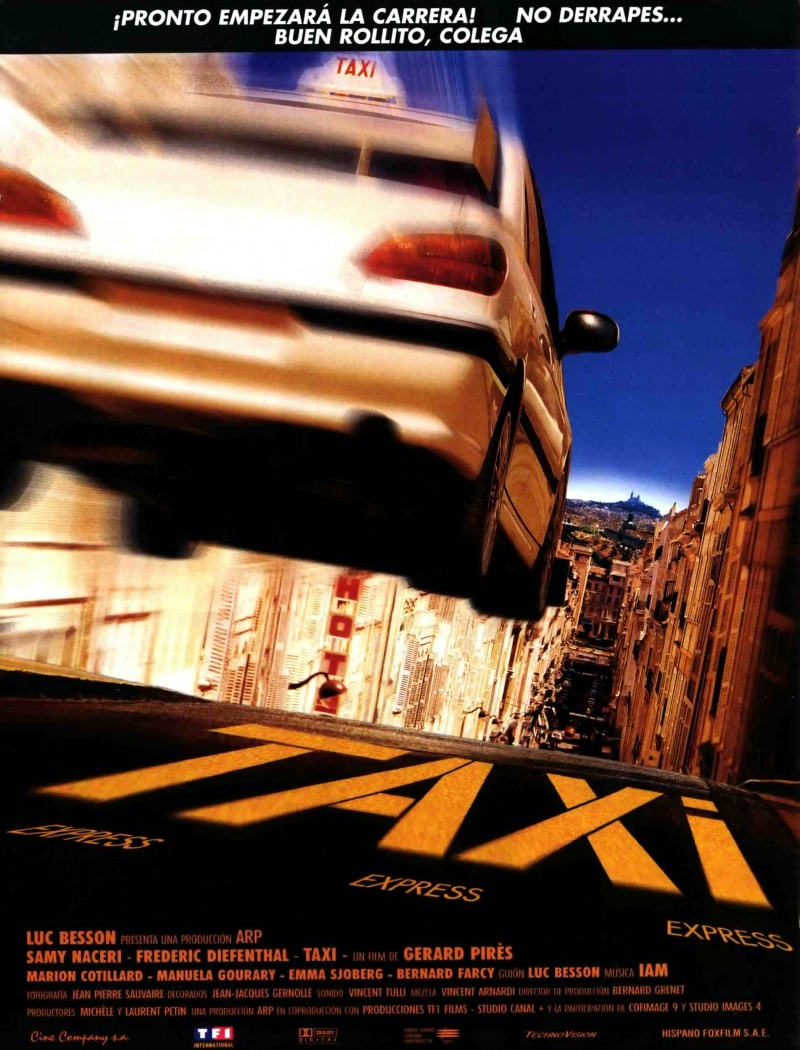 Такси 1 / Taxi 1 1998 [HD]