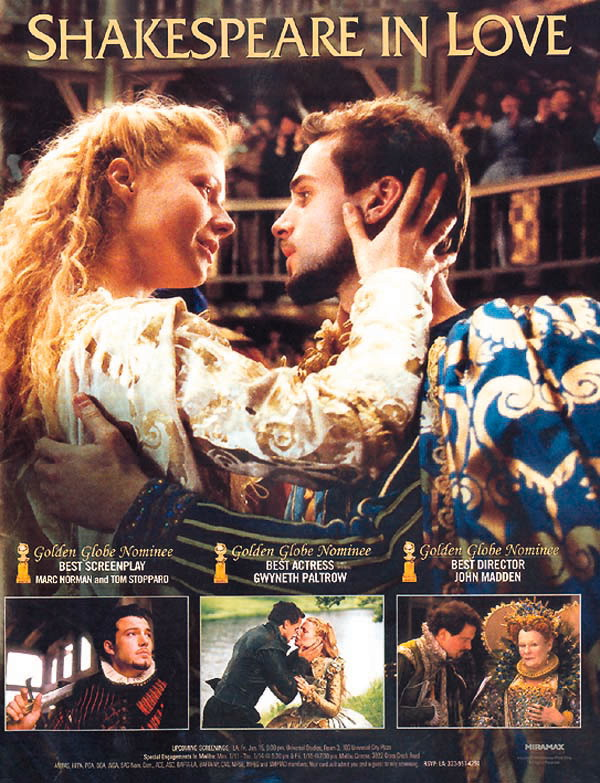 love as the major theme in william shakespeares romantic comedies The three william shakespeare's plays shakespeare shows the theme of gender and claudius falls in love with gertrude due to the romantic relationship he.