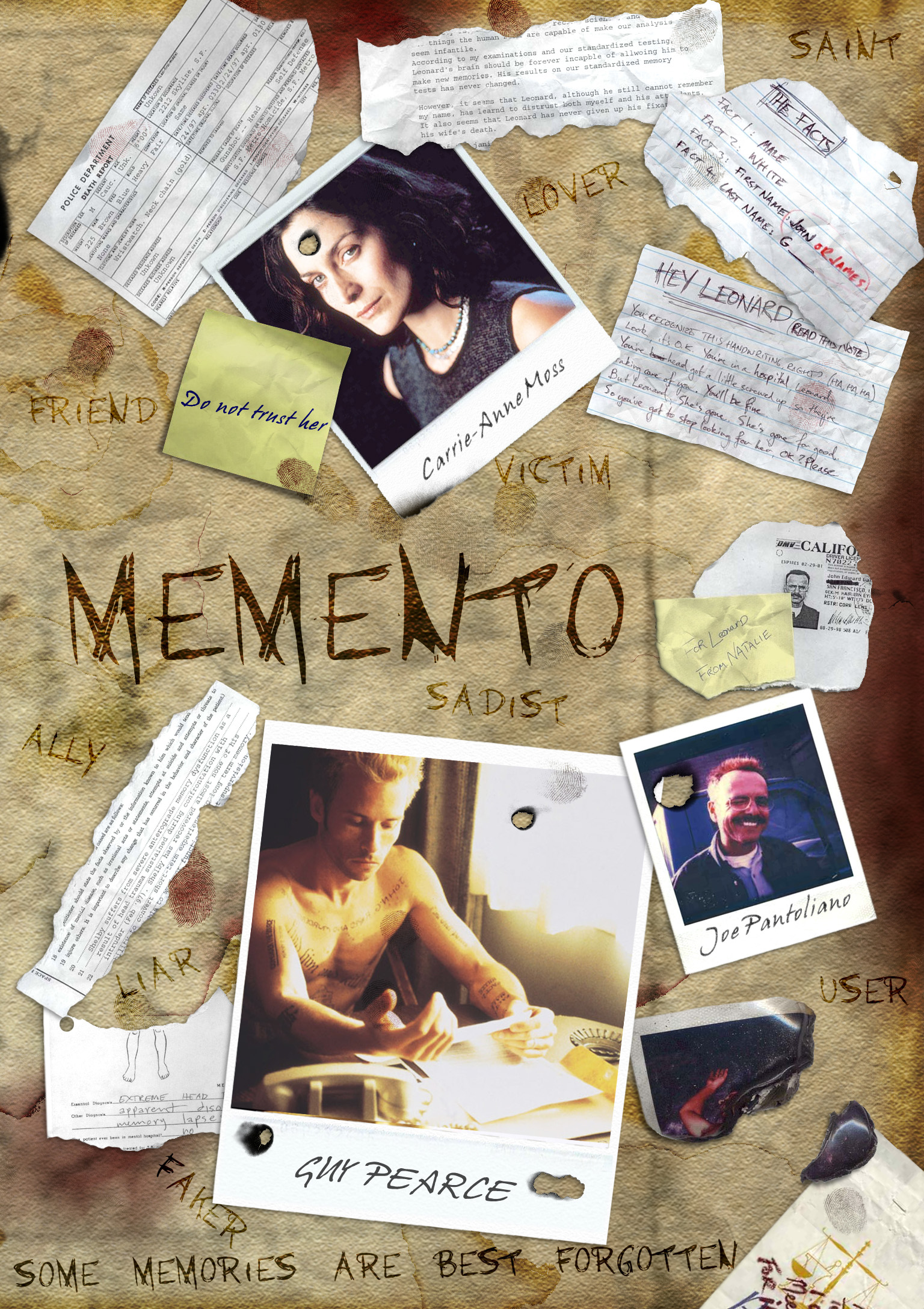 Фильм помни постеры