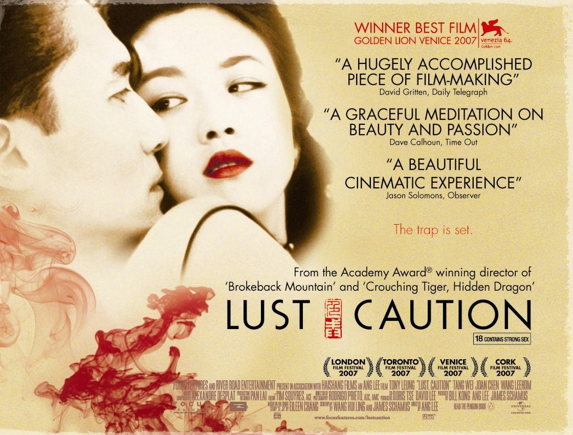 a review of lust caution a 2007 erotic espionage thriller film by ang lee 24 best & worst erotic movies by rt staff (2007, 72%) ang lee's lust, caution is a tense, sensual and beautifully-shot espionage film.
