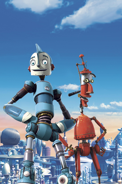 Картинки роботов мультик