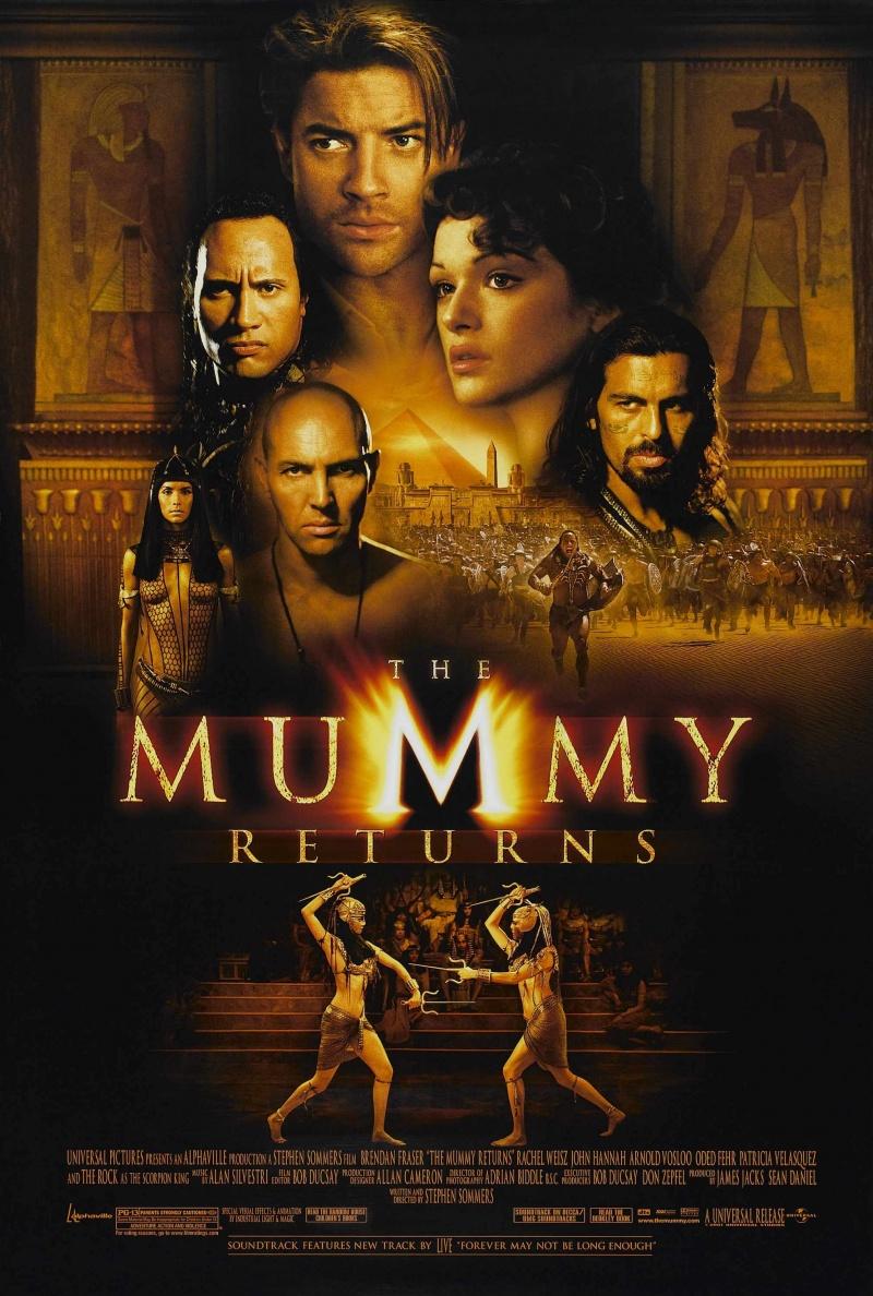 Мумия возвращается The Mummy Returns