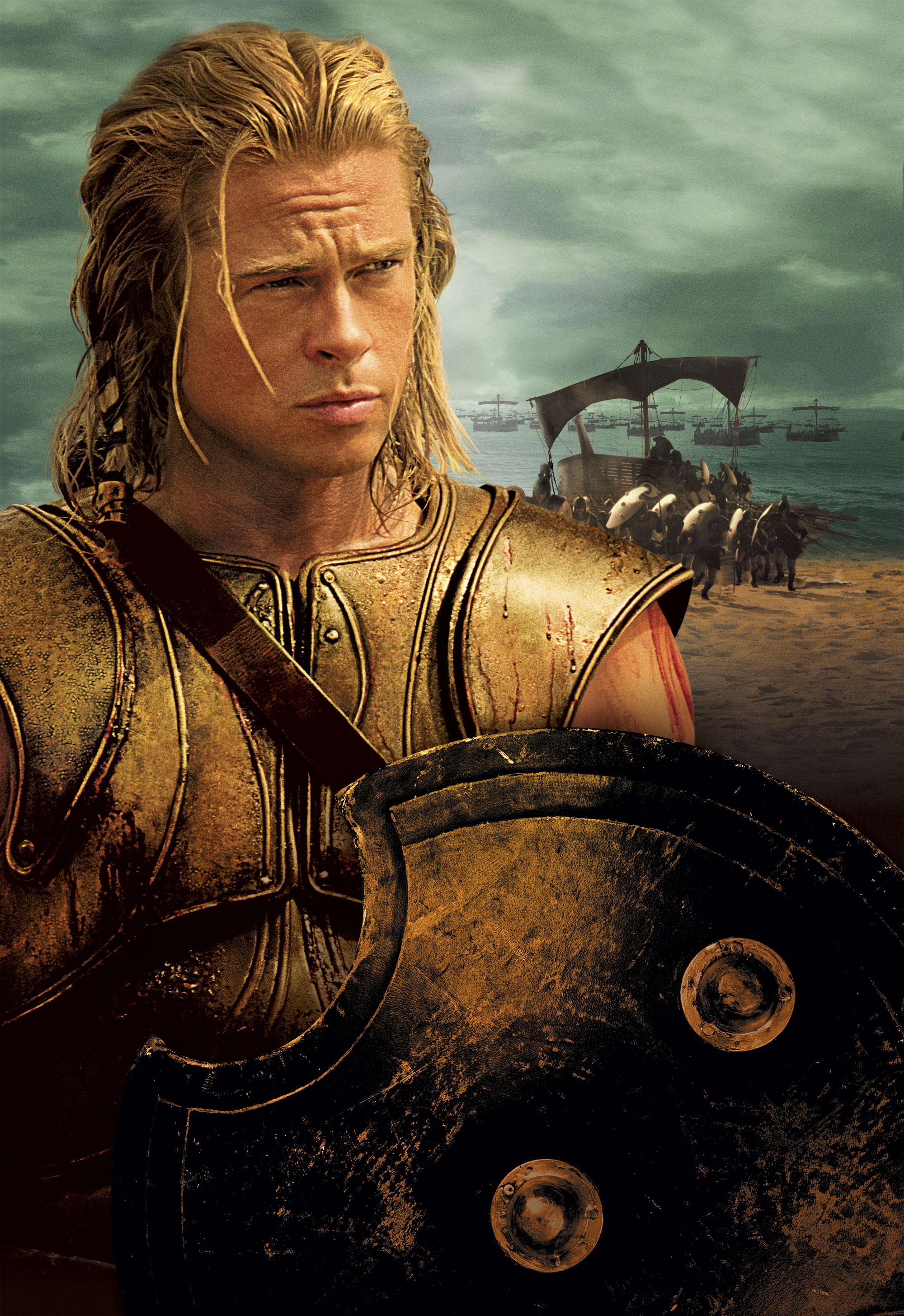 message of the movie troy