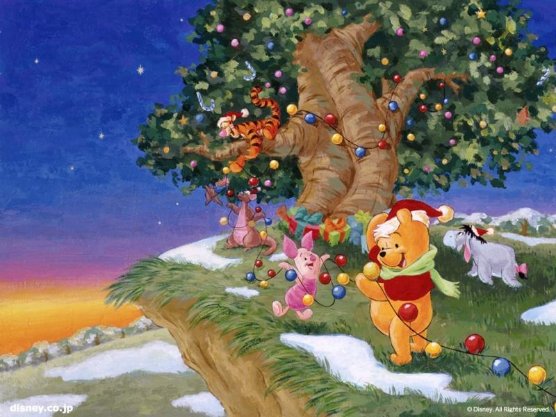 Винни пух и рождество фото 260-679
