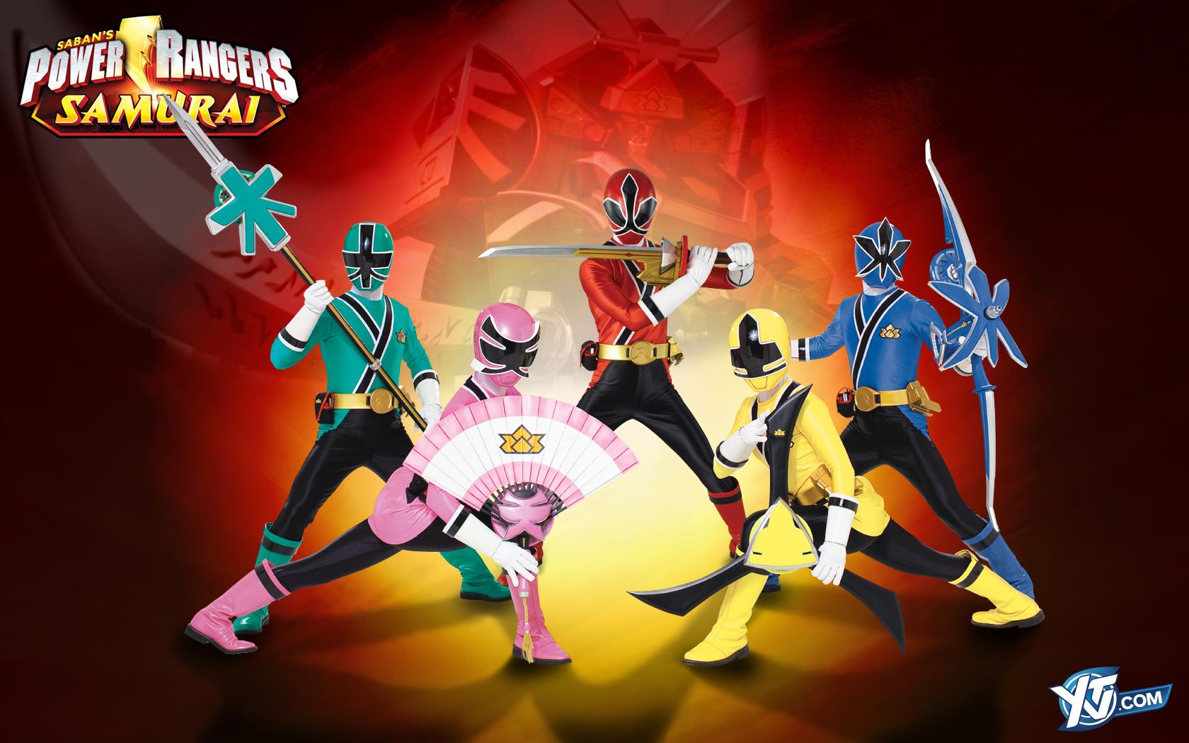 power rangers samurai - HD1680×1050