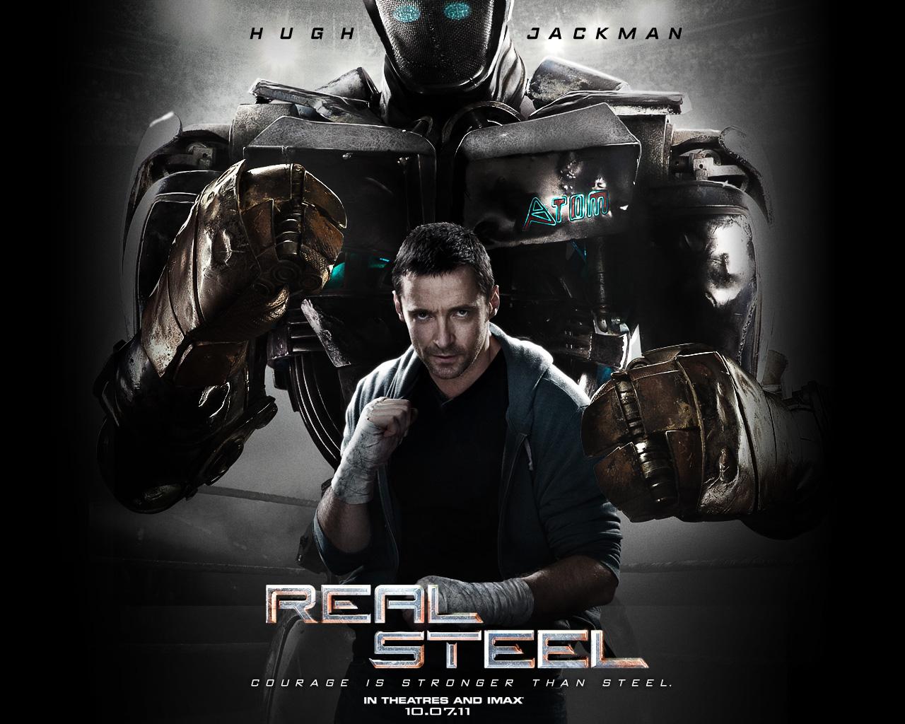 фильм в 3d живая сталь