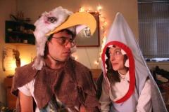 Орел против акулы