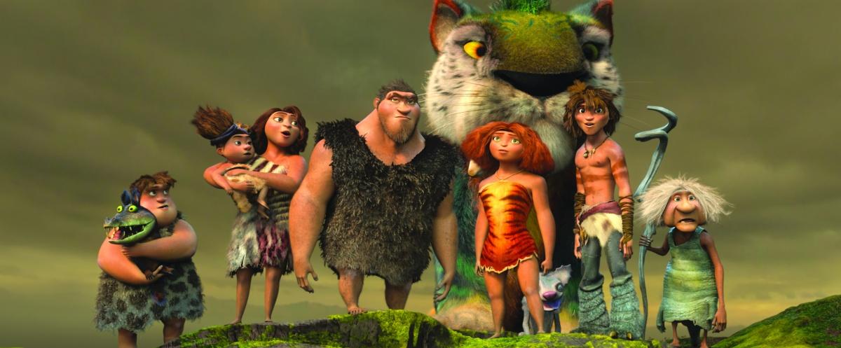 Семейка Крудс / The Croods (2013)