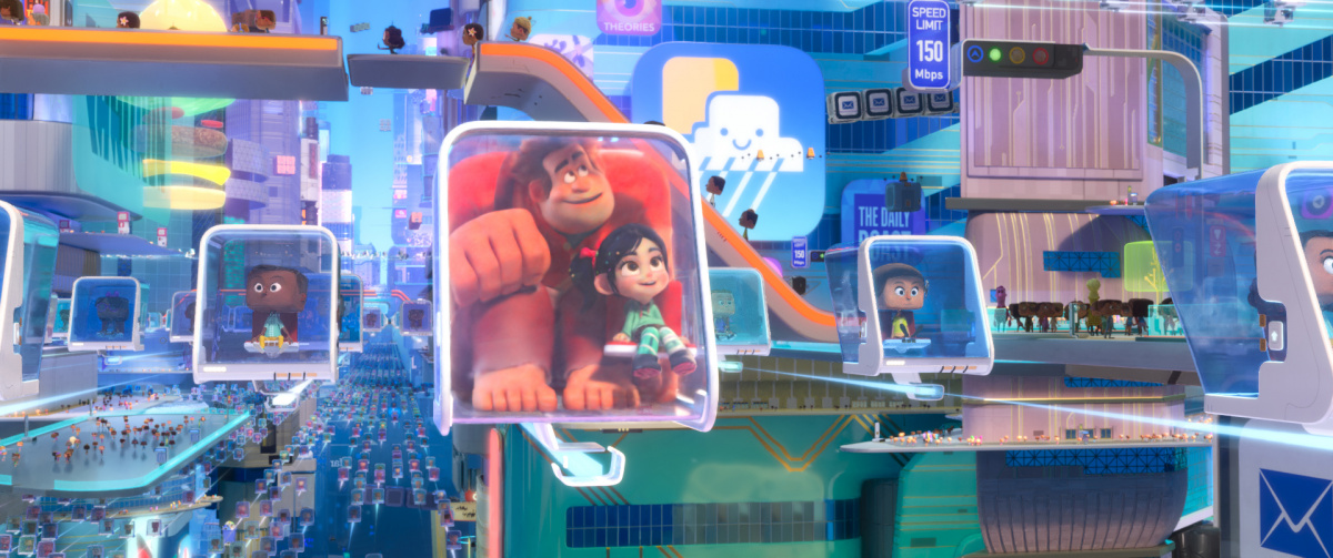 Ральф против интернета / Ralph Breaks the Internet (2018)