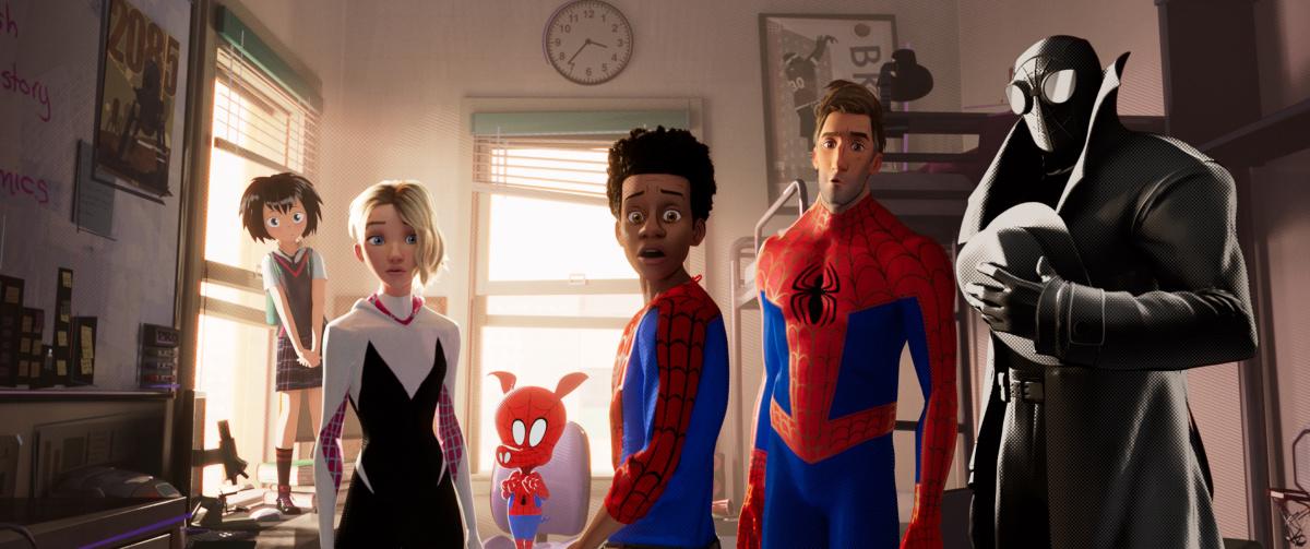 Человек-паук: Через вселенные / Spider-Man: Into the Spider-Verse (2018)