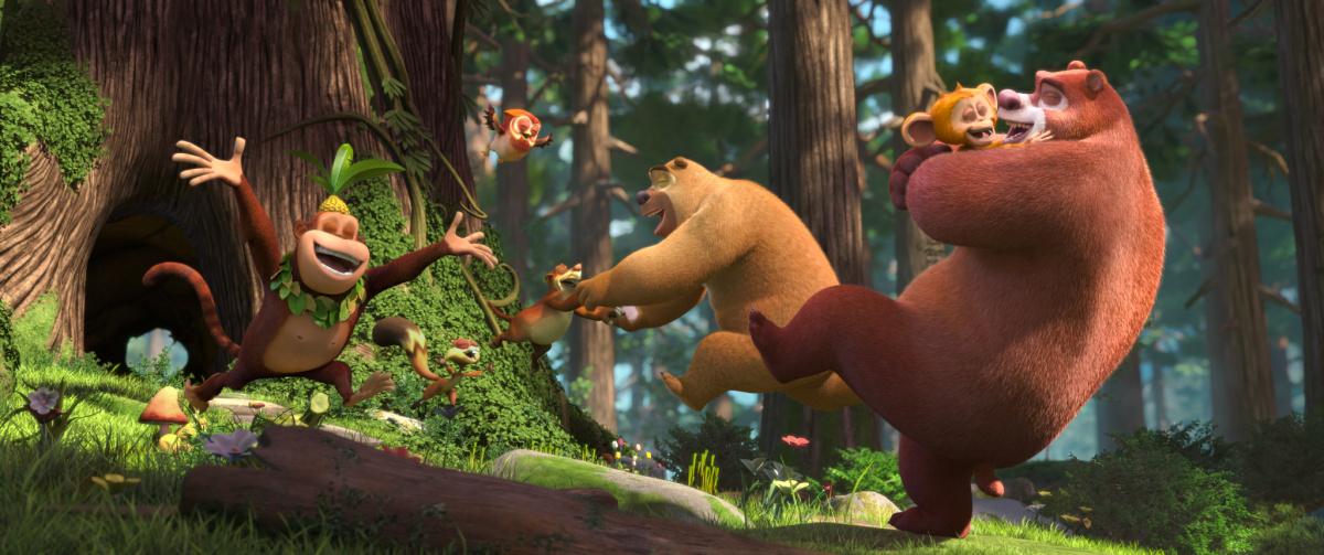 Побег из джунглей / Boonie Bears: Blast Into the Past (2019)