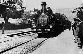 Прибытие поезда на вокзал города Ла-Сьота 1895 кадры