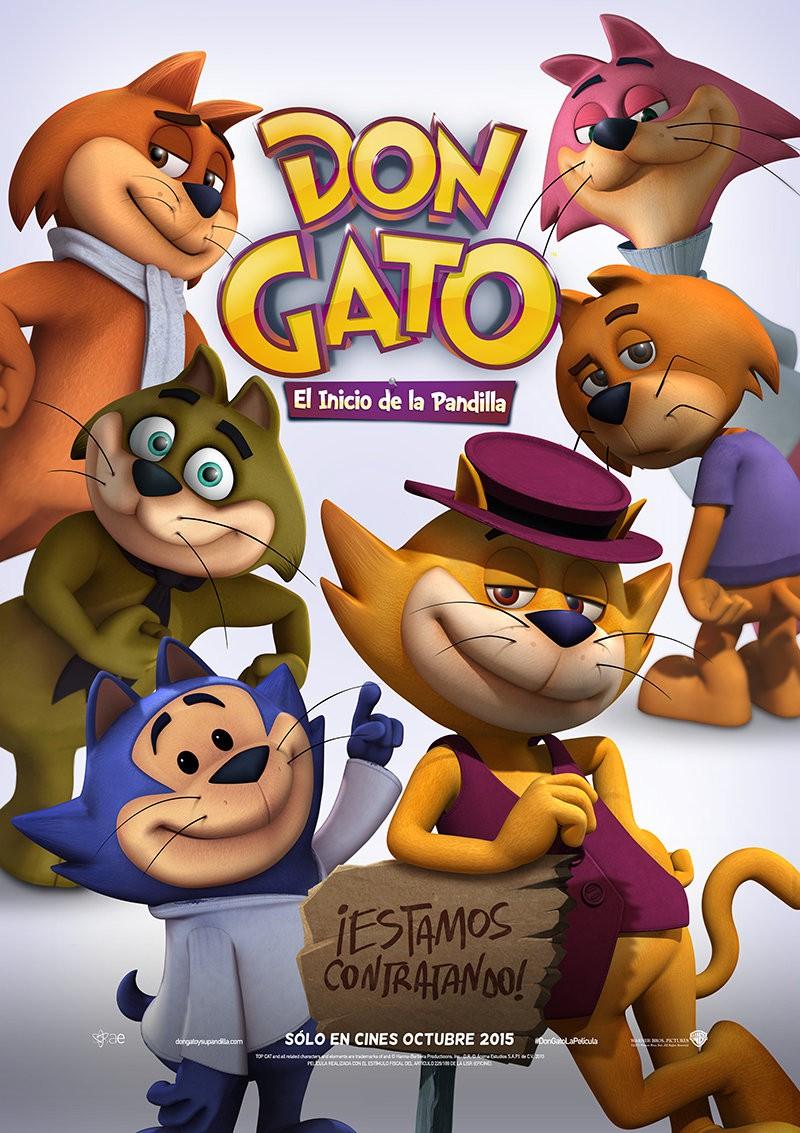 Банда котиков / Don Gato: El Inicio de la Pandilla (2015)