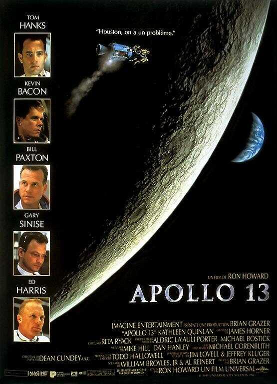 Аполлон 13 / Apollo 13 (Ron Howard / Рон Ховард) [1995 г., драма, приключения, история, DVDRip]