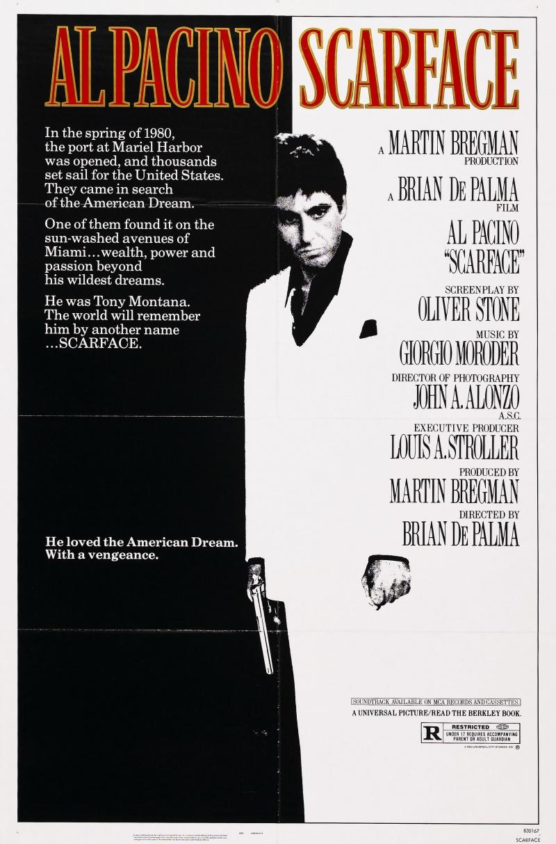 Лицо со шрамом (1983) смотреть онлайн бесплатно